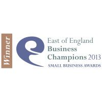 "Winner ""Business Person Of The Year"" Nov 2013 – East of England Business Champions Award"