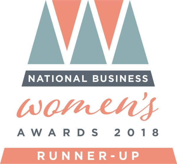 "National Silver Award ""Influential Business Woman of the Year"" 2018 – National Business Women's Awards"