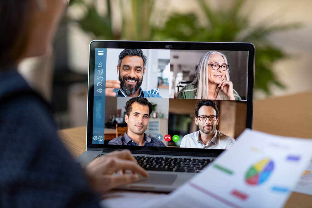 Virtual Presenting: maximising your effectiveness in blended and virtual environments