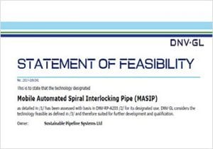 DNVGL Statement Of Feasibility