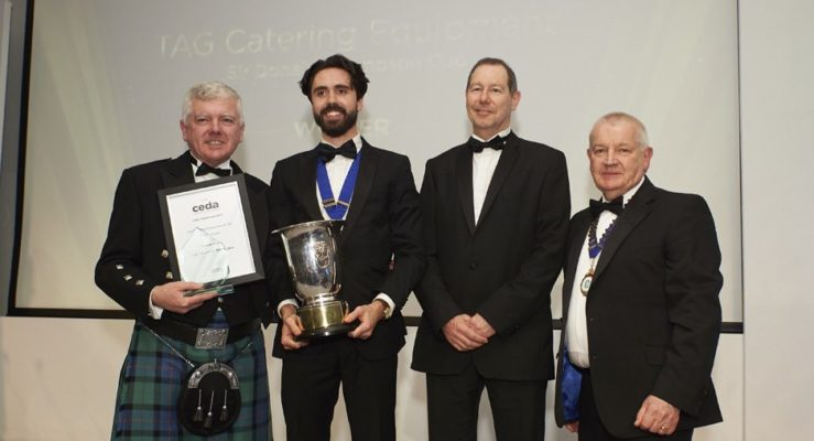 TAG Catering Equipment UK Ltd winners at ceda Grand Prix Awards 2019