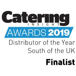 Distributor South of the UK finalist at the Catering Insight Awards 2019