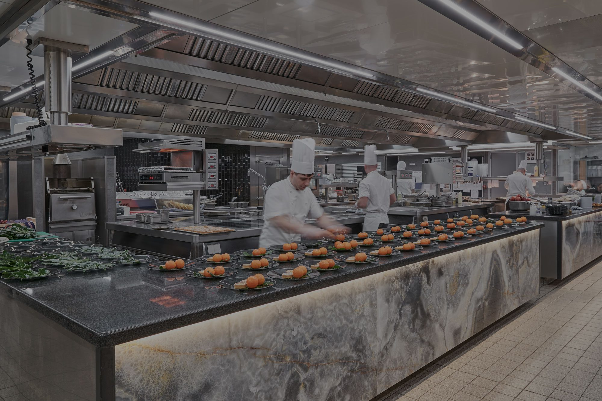 The Dorchester Basement Kitchen Installation by TAG