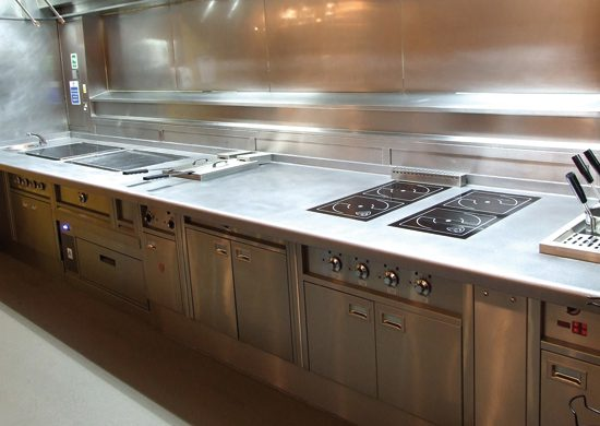 Hygienic Commercial Kitchen Cook Suites   After