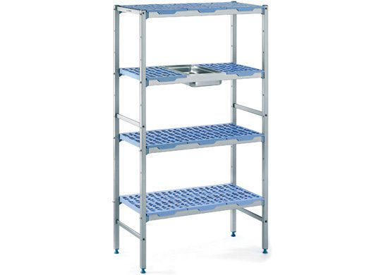 Hygienic Commercial Kitchen Shelving and Storage