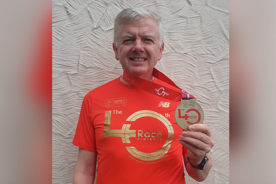 Mike Bradley smashes London Virtual Marathon target