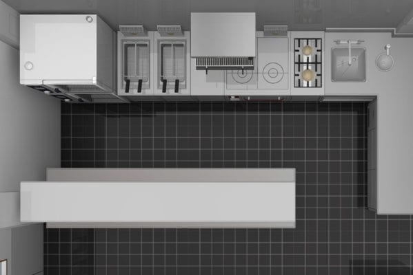 Small Commercial Kitchen Design | Featured Image