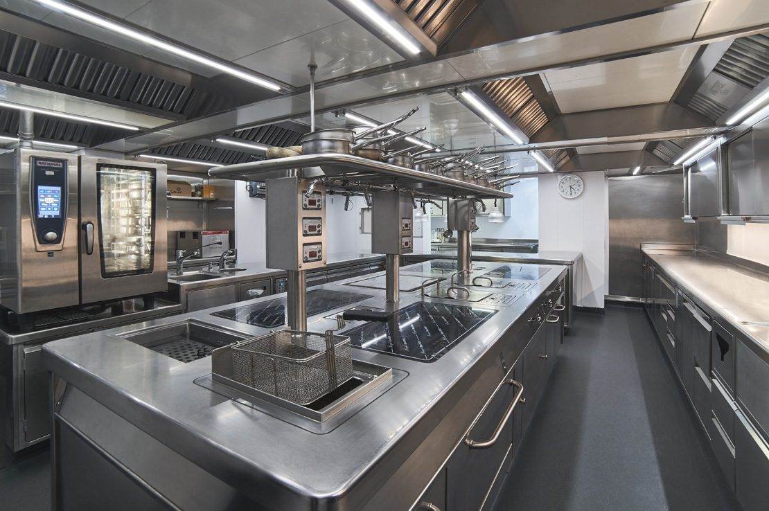 Brown's Hotel Commercial Kitchen Installation