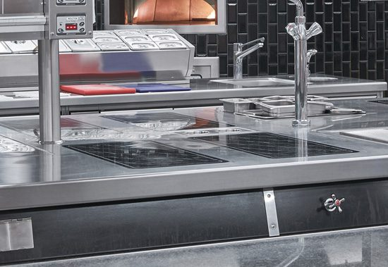 Commercial Kitchen Induction Cooking