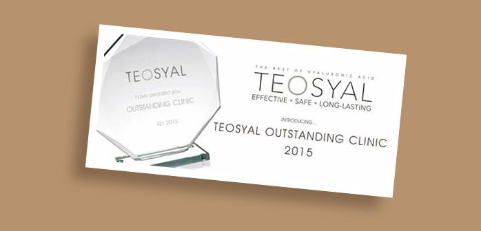 Teosyal outstanding clinic award
