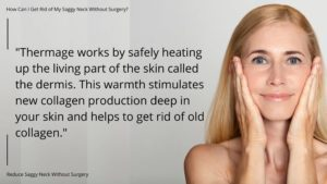 get rid of saggy neck