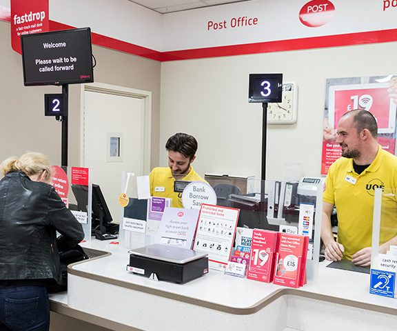 Uoe Hertford Post office services