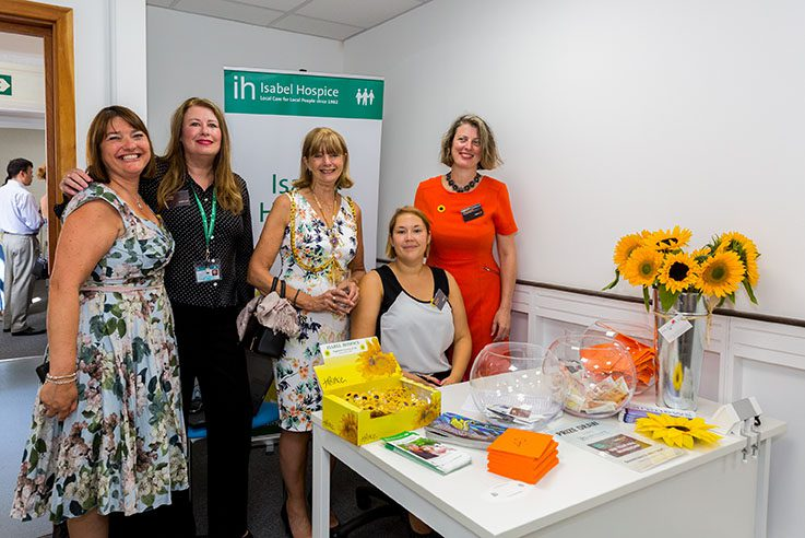 Isabel Hospice at UOE Business Hub Hertford opening event