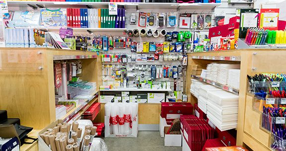 Muswell Hill stationery in shop