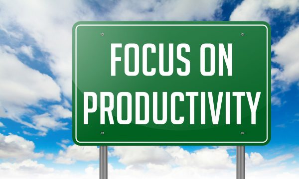 Focus on productivity