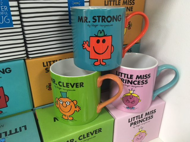 Mr Men mug gifts