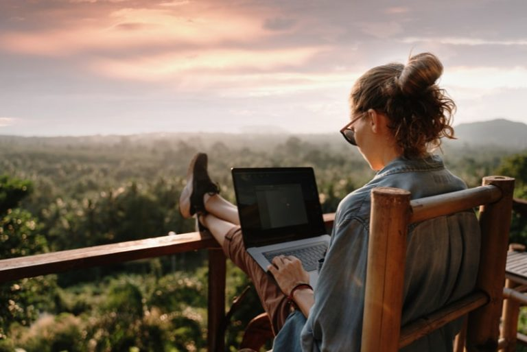 Remote Working, No Need To Commute