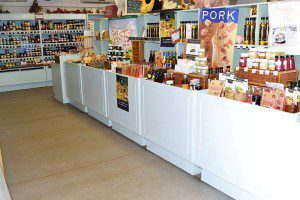 Foxholes Farm Shop Interior