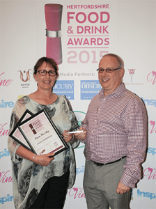 Hertfordshire Food and Drink Awards 2015